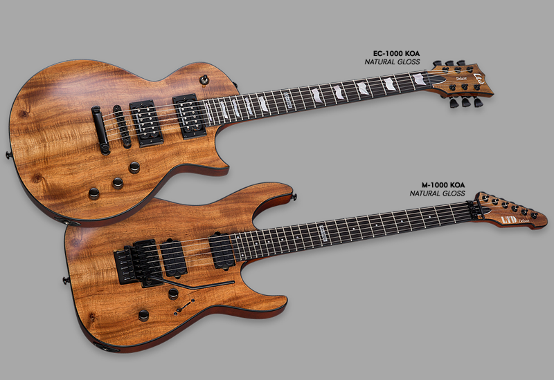Summer NAMM 2015 – ESP LTD Deluxe 1000 Series