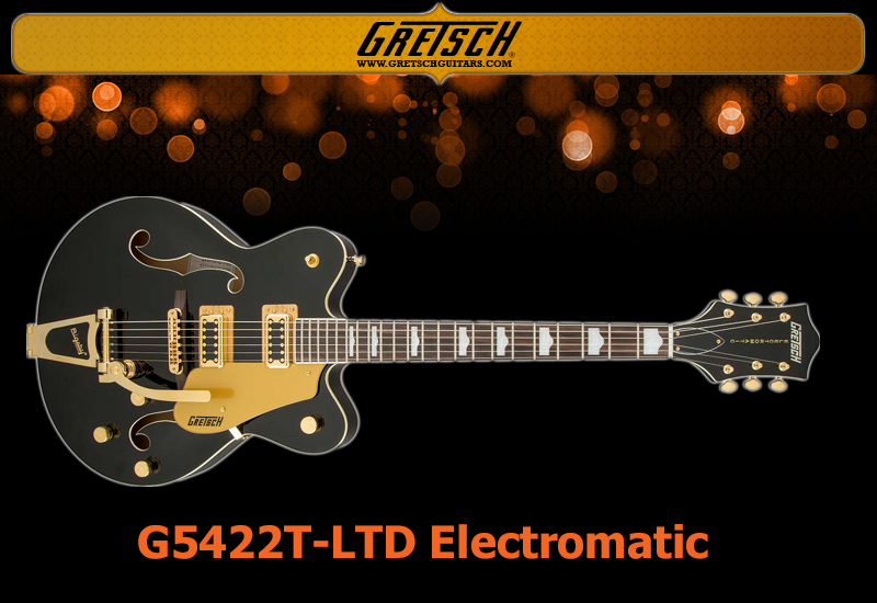 GRETSCH G5422T-LTD Limited Electromatic Hollow Body Black/Gold