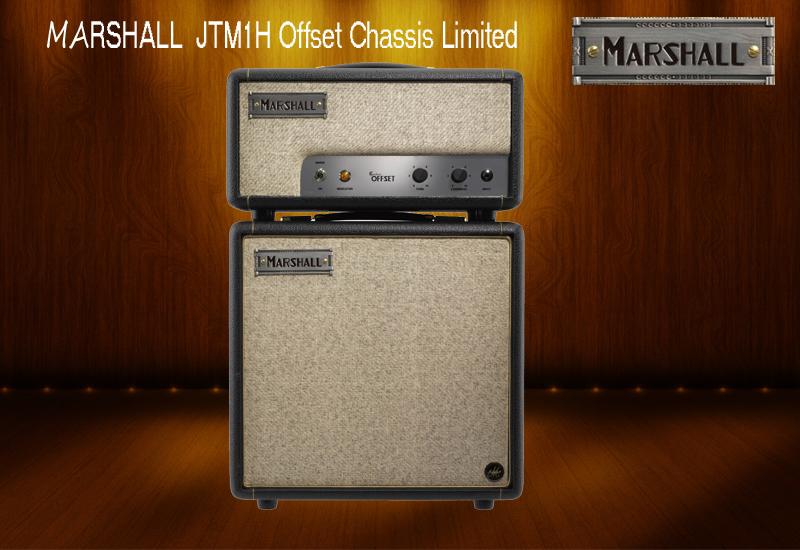 MARSHALL  JTM1H Offset Chassis Limited