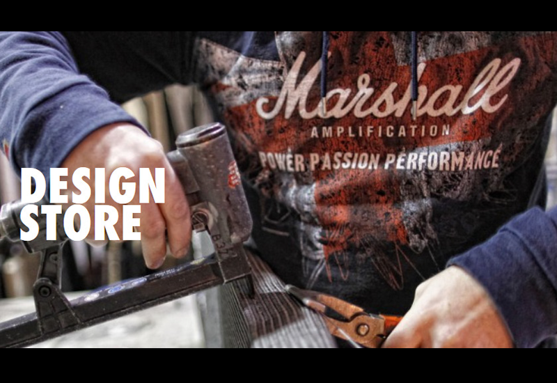 Custom Designs im neuen Marshall Design Store!