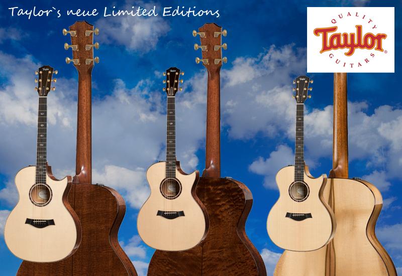 Summer NAMM 2015 – Taylor Limited Editions der 500er und 700er Serien