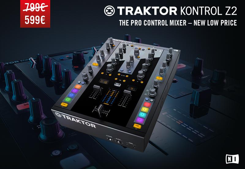 Native Instruments – TRAKTOR KONTROL Z2 zum Sonderpreis!