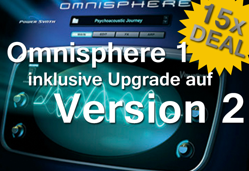 Spectrasonics Omnisphere zum einmaligen Deal!