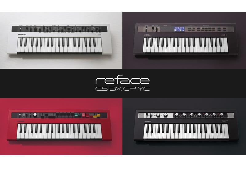 reface – die erfolgreichsten Yamaha Synthesizer kehren zurück!