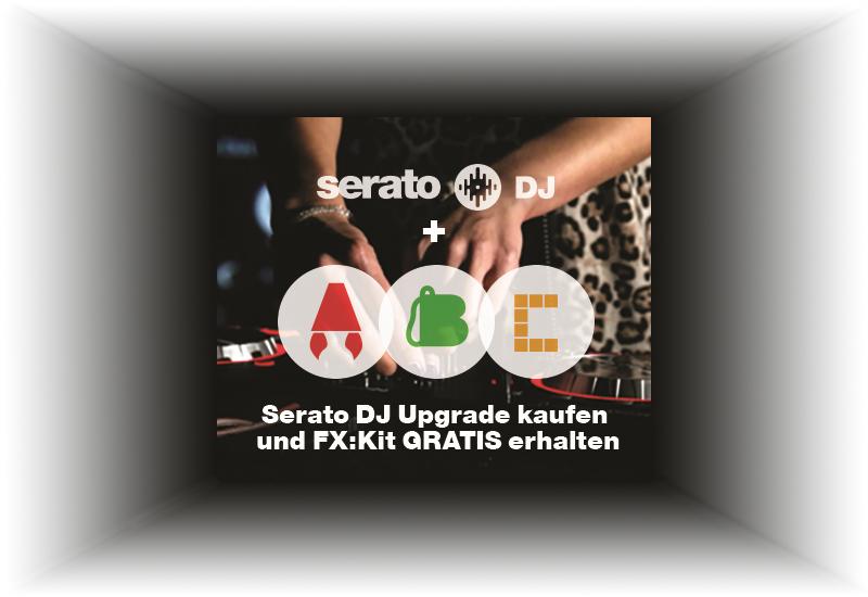 Serato DJ Software (Box) jetzt inklusive Serato FX-Kit!