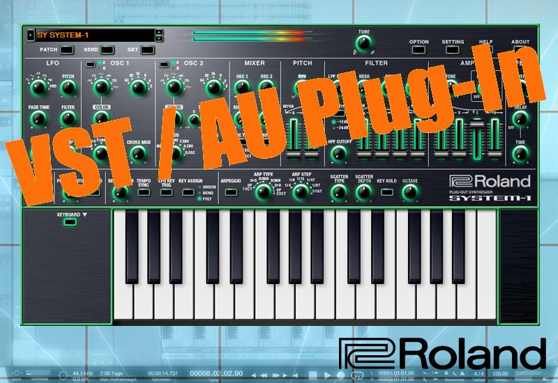 Roland System-1 als VST / AU Plug-In