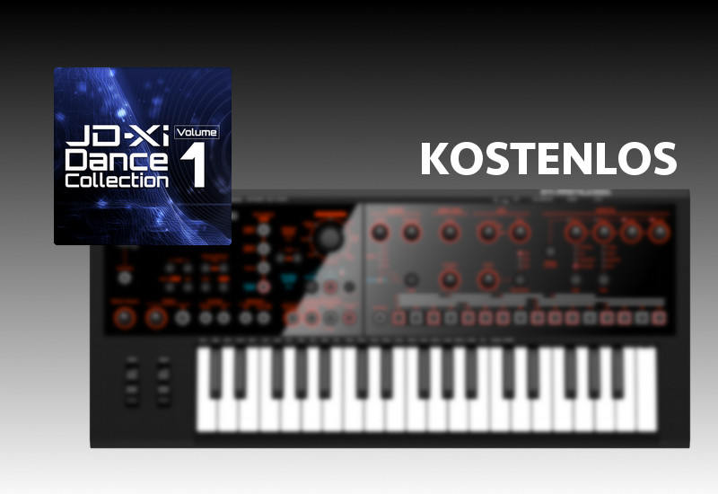 ROLAND JD-Xi Dance Collection Volume 1