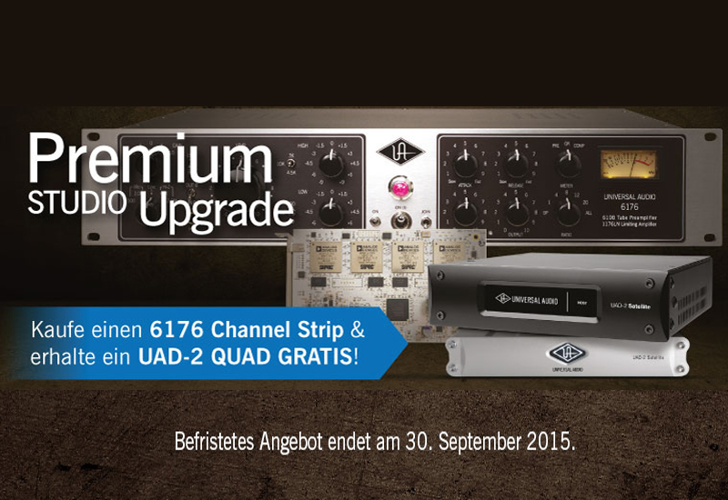 Universal Audio Premium Studio Upgrade