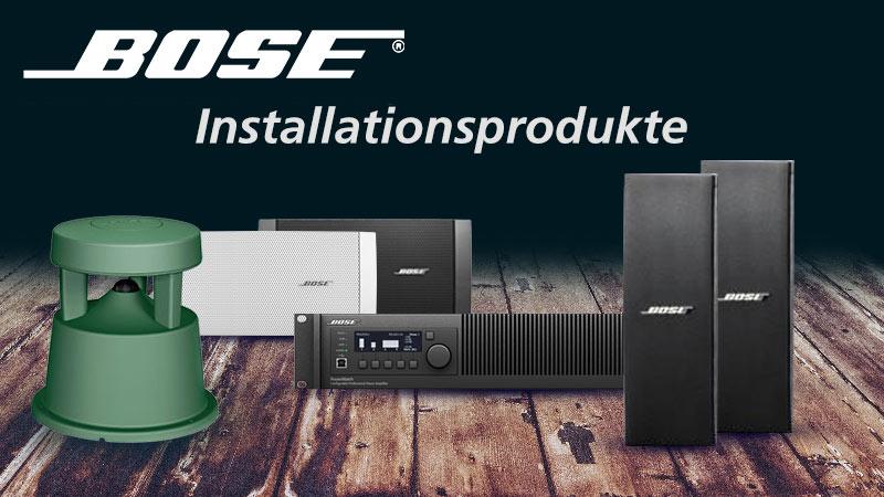 Neu im MUSIC STORE: BOSE Installationsprodukte