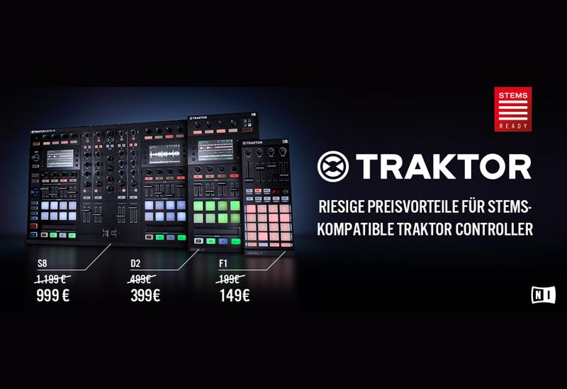 NI – STEMS Release mit TRAKTOR KONTROL F1, D2 und S8 zum Sonderpreis!