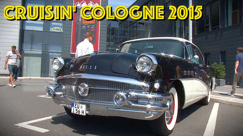 Video-Rückblick Cruisin' Cologne 2015