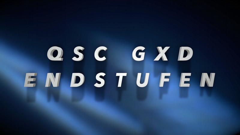 QSC GXD4 und GXD8 – Profi-Endstufen zum fairen Preis!