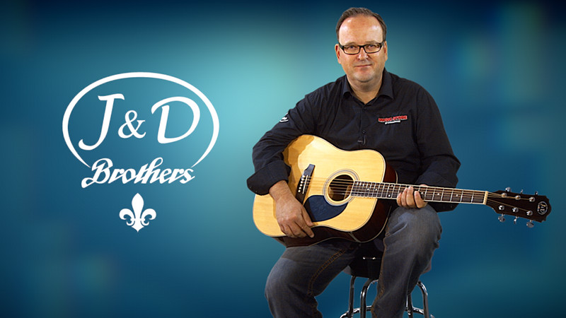 Jack & Danny D-80 Westerngitarre für 69 Euro