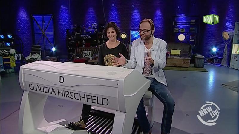 WERSI & Claudia Hirschfeld bei NRW Live LATE NIGHT