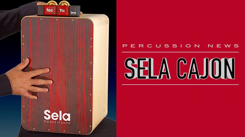Sela CaSela Cajon Red Zebrano + Sela Tac Tic