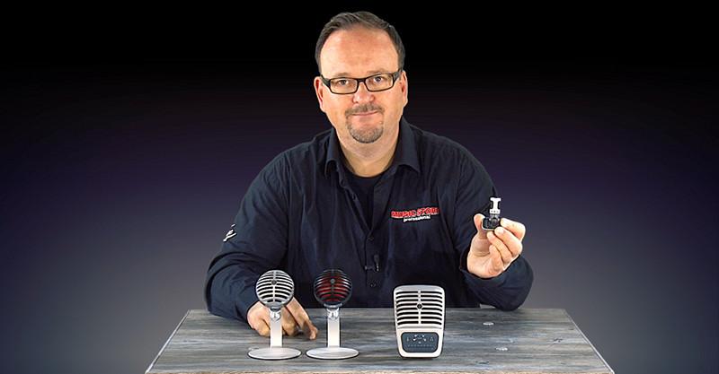 SHURE MOTIV – Die neuen digitalen Mikrofone MV5 MV51 MV88