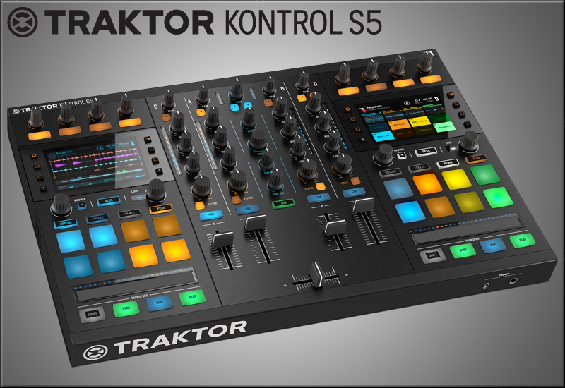 Native Instruments präsentiert den Traktor Kontrol S5!