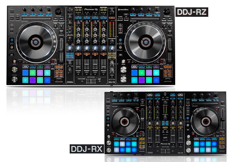 Pioneer präsentiert den DDJ-RX und DDJ-RZ für das neue Rekordbox dj!