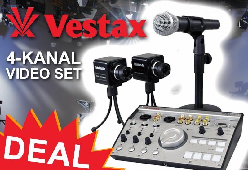DEAL: Vestax – 4-Kanal Video Set PBS-4