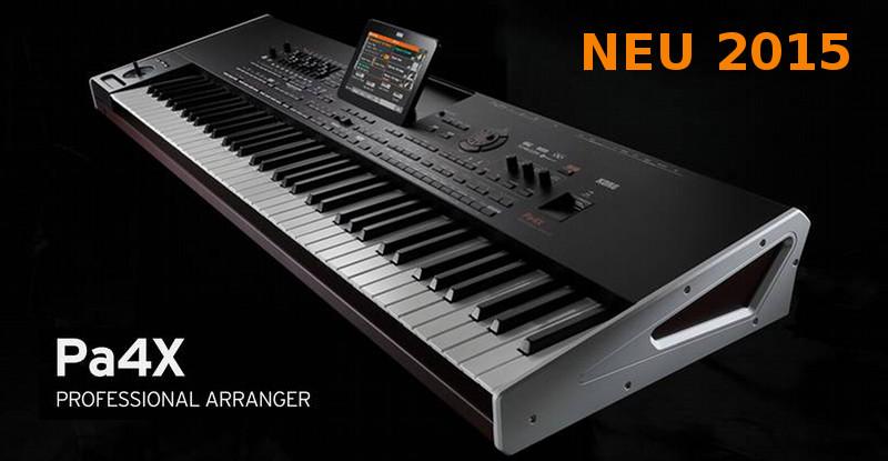 KORG Pa4X Keyboard der Luxusklasse