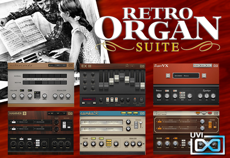 NEU: UVI – Retro Organ Suite