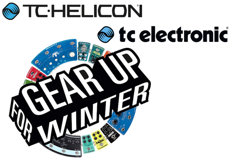 TC ELECTRONIC und TC HELICON Gear up for Winter