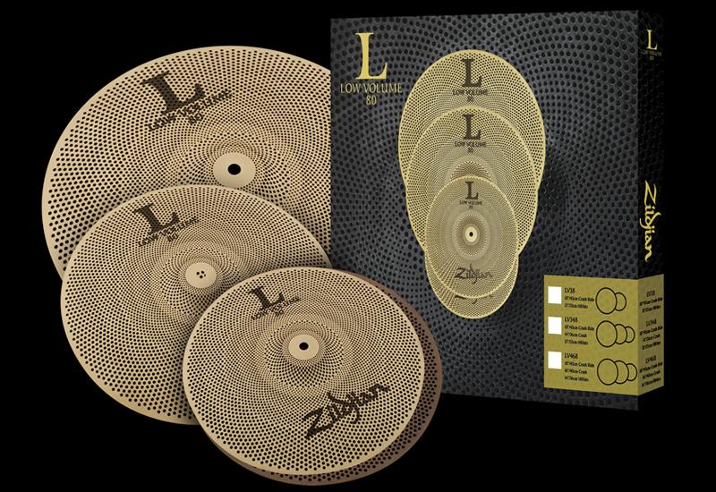 Zildjian Low Volume Cymbals – Becken dämpfen Level: Pro!