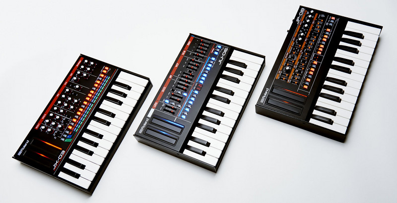 ROLAND Boutique Synthesizer JP-08, JU-06, JX-03, K-25m