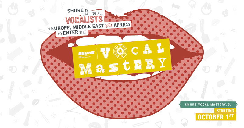 "Shure Gesangswettbewerb ""Vocal Mastery"""
