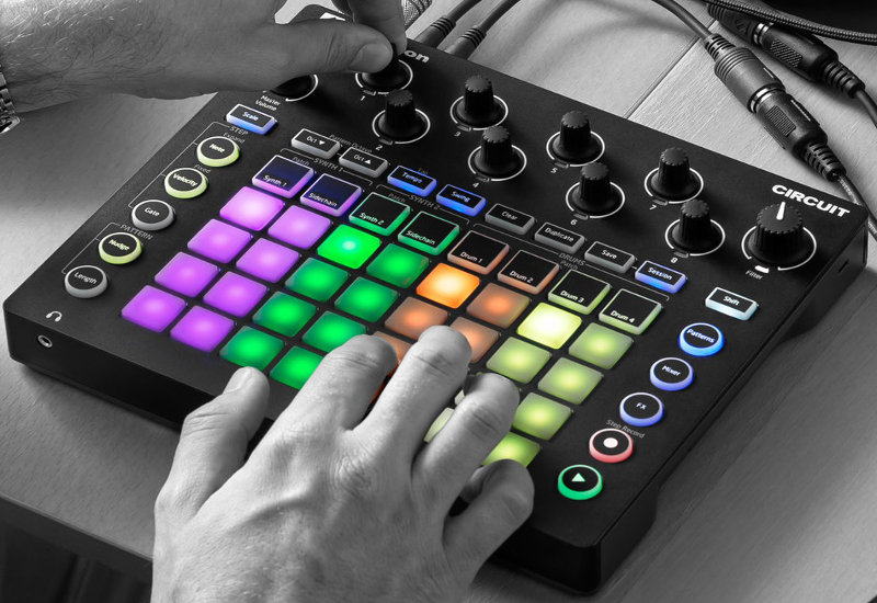 Novation Circuit Day mit Dankmar Klein am 27.11.2015