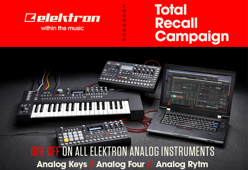 Elektron – Total Recall Kampagne
