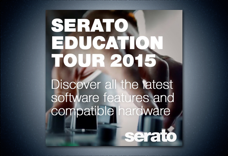 Serato Education Tour am 30.11.15 im MUSIC STORE!