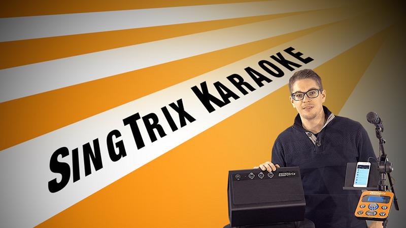 SingTrix – Die mobile Karaoke Bar für zu Hause und unterwegs