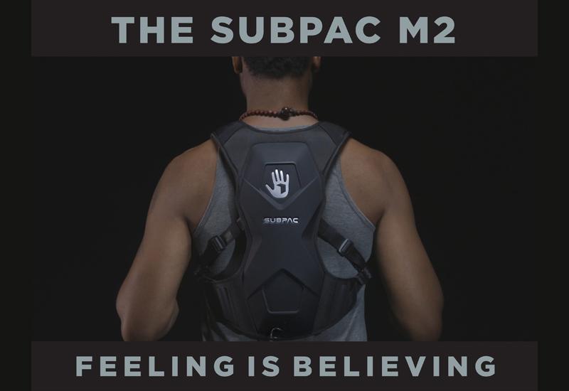 SubPac M2 – Die tragbare Variante des erfolgreichen S2 – Hier vorbestellen!
