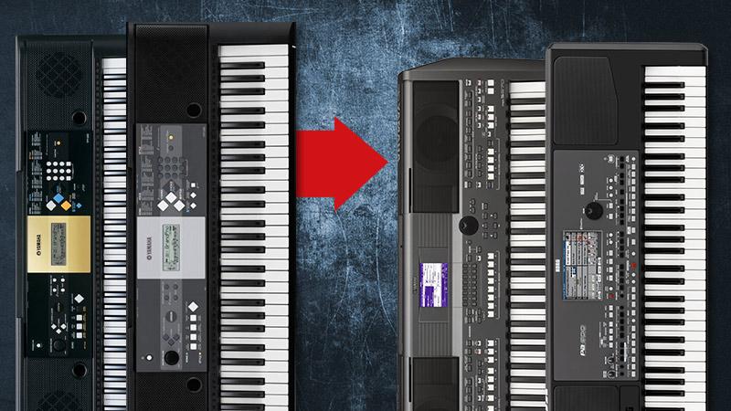 Der grosse YAMAHA Keyboard-Tausch-Rausch