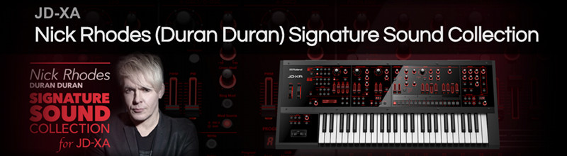 Nick Rhodes (Duran Duran) Signature Sound Collection