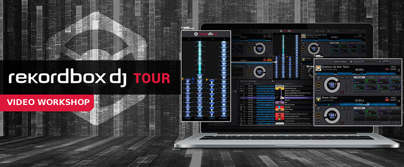 PIONEER DJ rekordbox dj Video-Workshop