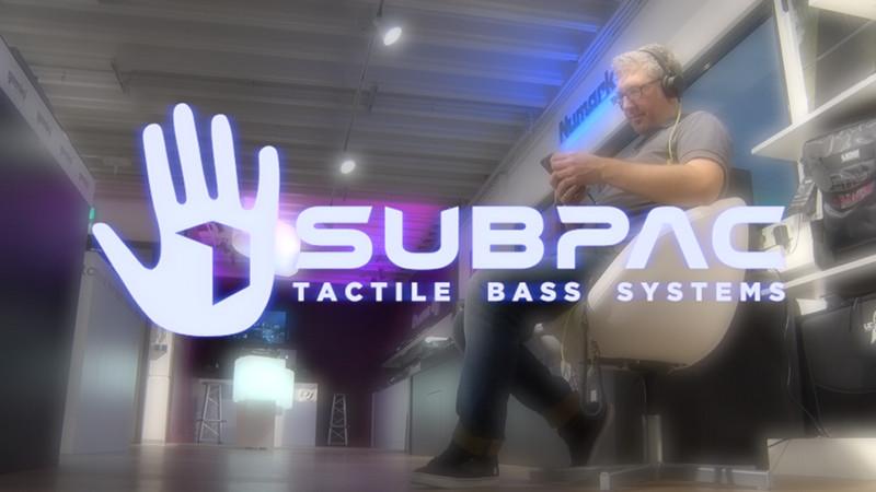 SubPac Tactile Bass System S2 M2 – spüre die Musik!