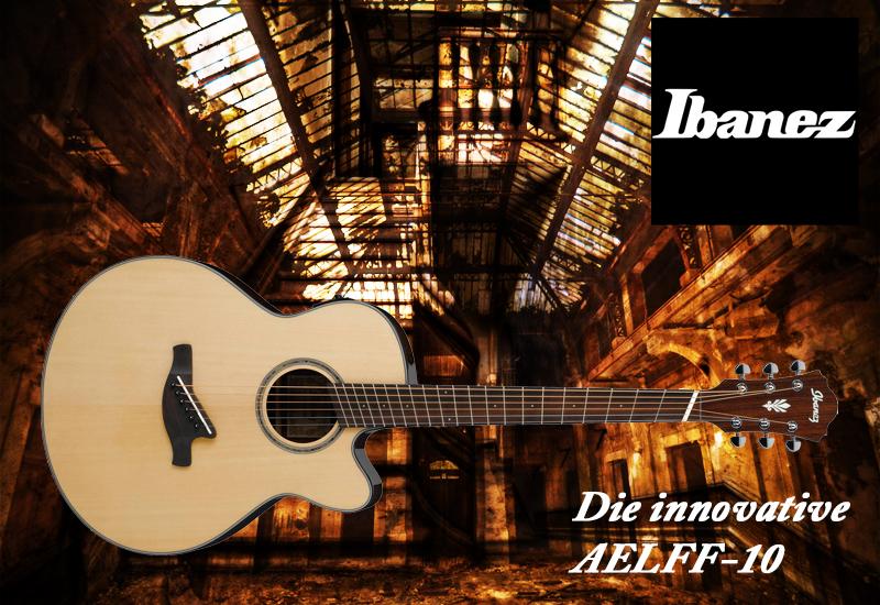 NAMM SHOW 2016: Ibanez präsentiert die Ibanez AELFF10-NT