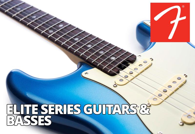 NAMM SHOW 2016: Fender American Elite Series