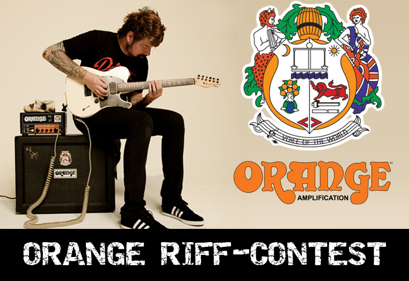 Orange Amps Riff-Contest