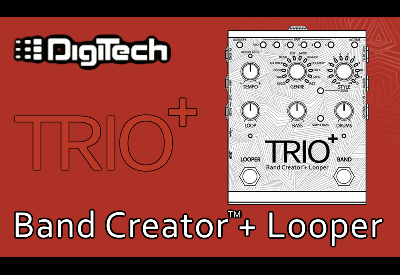 NAMM SHOW 2016: DigiTech TRIO+ Band Creator Looper