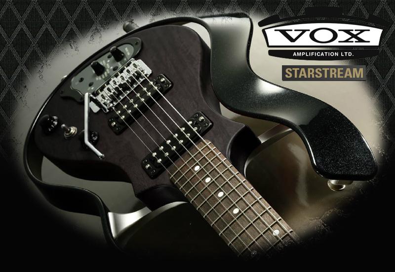 NAMM SHOW 2016 – VOX präsentiert die Starstream Type-1 Modeling Gitarre