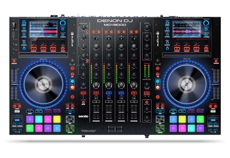 NAMM SHOW 2016 – DENON DJ PRÄSENTIERT MCX8000 DJ CONTROLLER MIT ENGINE SOFTWARE