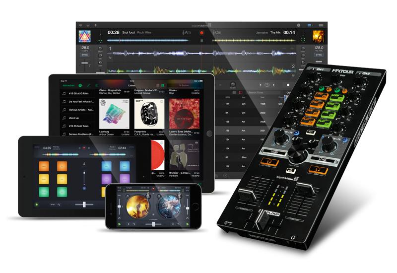 NAMM SHOW 2016 – Reloop präsentiert den MIXTOUR Cross-Plattform Controller
