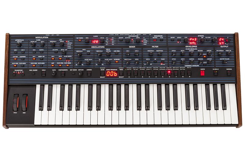 NAMM SHOW 2016 – DSI präsentiert den OB-6 Synthesizer