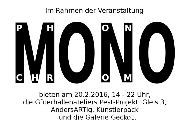 Termintipp für unsere Fans elektronischer Musik: Monochrom, Monophon