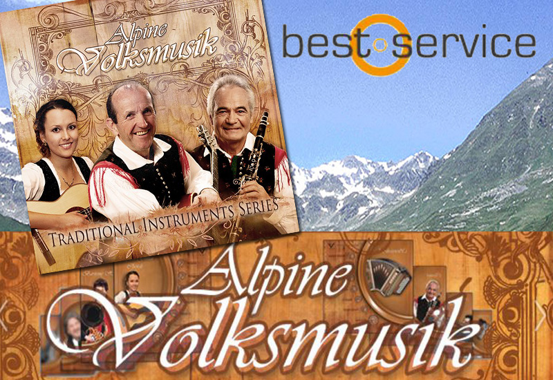 NEU: Best Service – Alpine Volksmusik VST / AU Plug-In