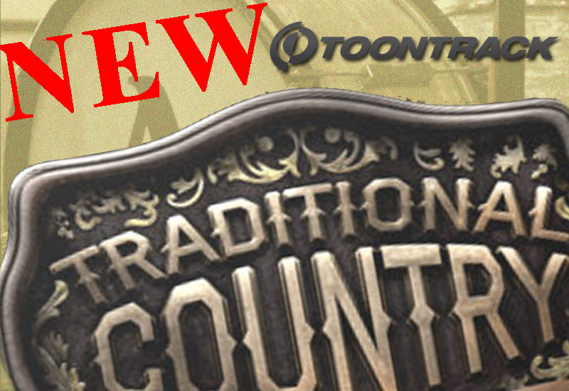 NEWS: Toontrack – Traditional Country EZX