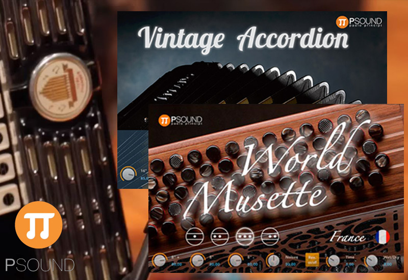NEU: PSOUND – Vintage Accordion & World Musette